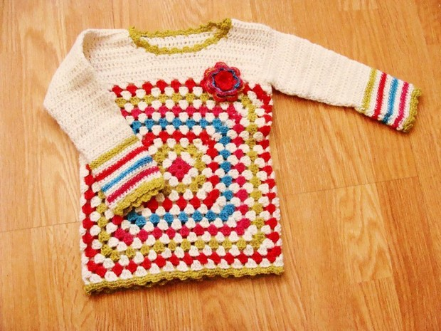 Cute Crochet Sweater Patterns