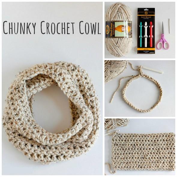 chunky-crochet-cowl