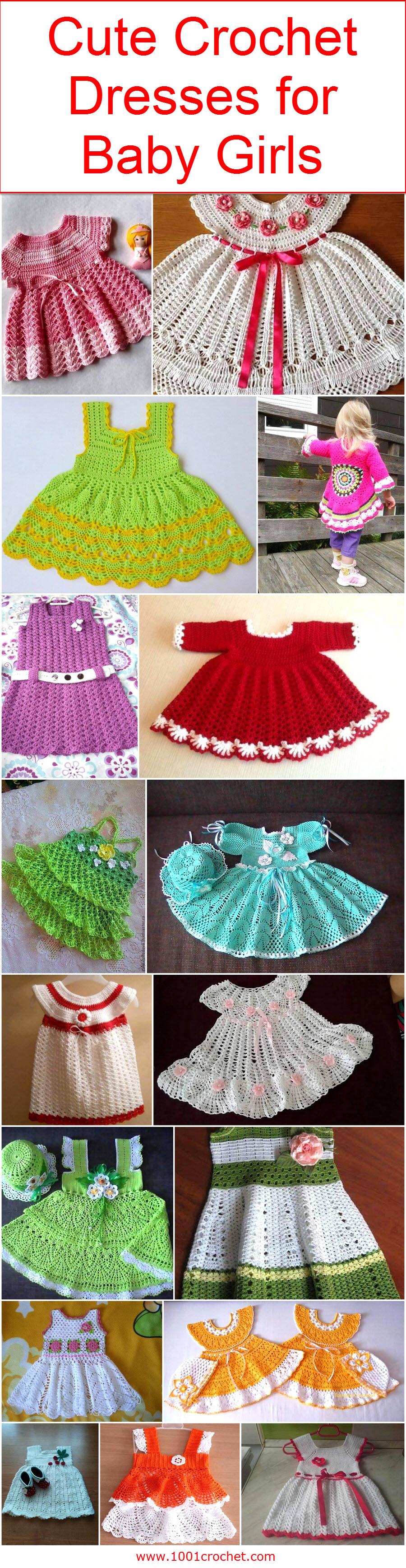 882402450 Cute Crochet Dresses for Baby Girls – 1001 Crochet