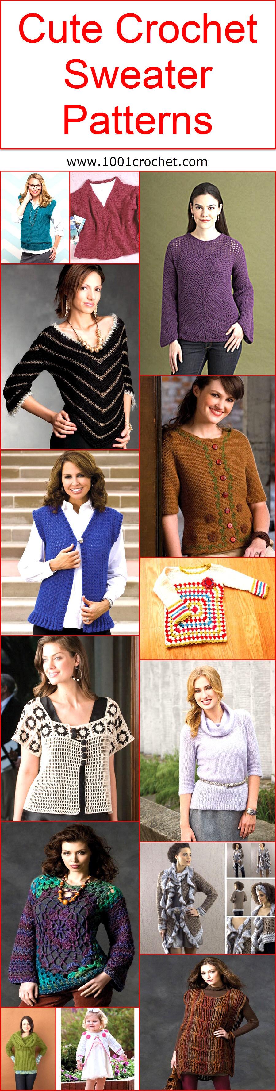cute-crochet-sweater-patterns