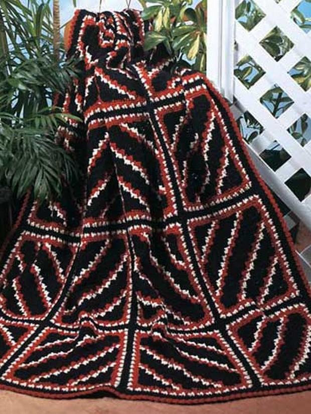 Easy Crochet Afghan Patterns 1001 Crochet