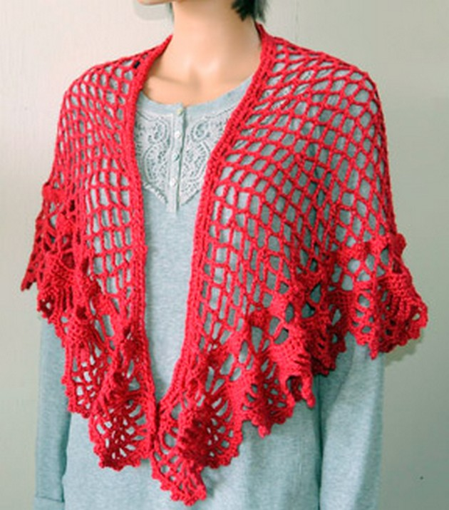 Free Patterns For Crochet Shawls / Wraps | 1001 Crochet