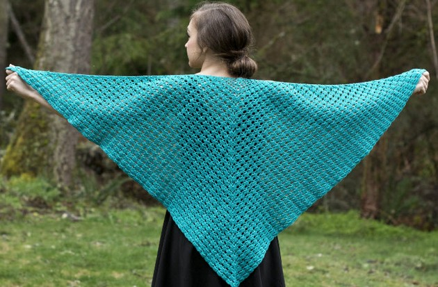 Free Patterns For Crochet Shawls / Wraps