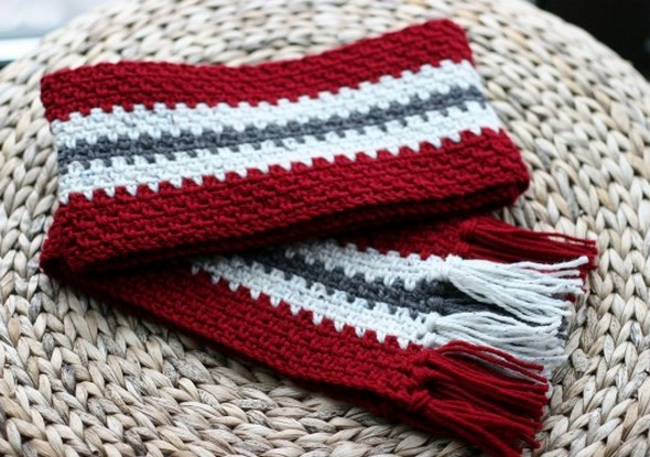 Crochet Scarves Patterns For Beginners