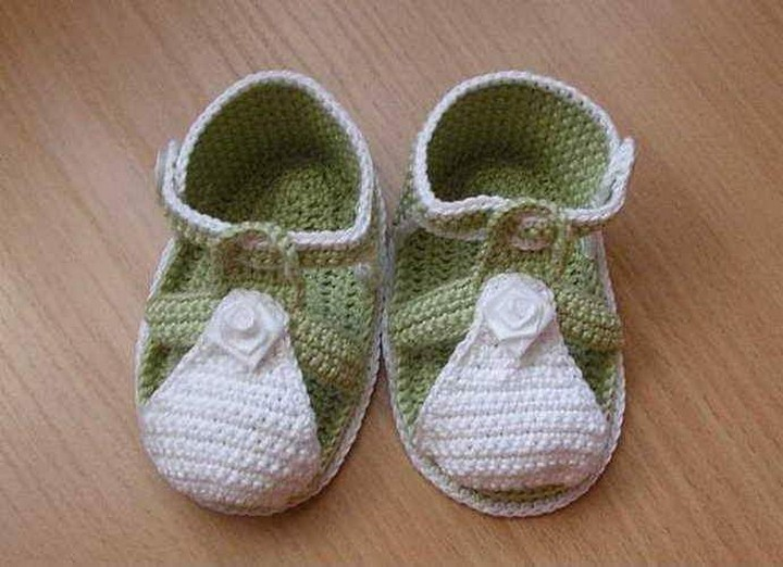 50 Crochet Baby Shoes Patterns 1001 Crochet