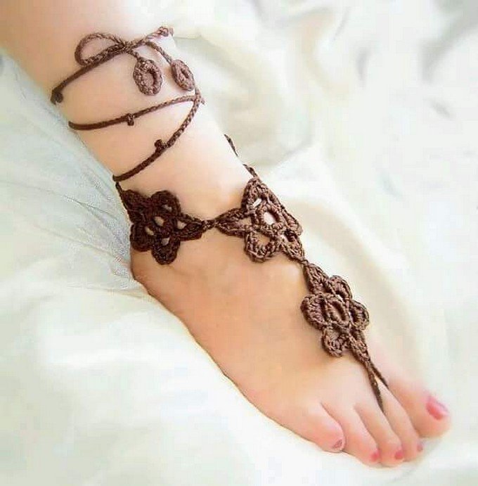 crochet-barefoot-sandal-5