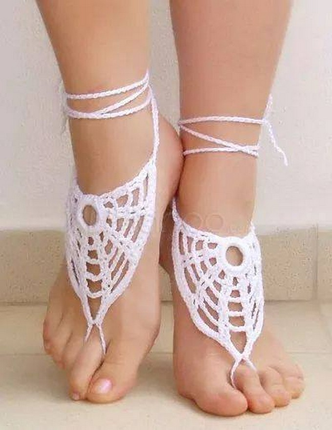 crochet-barefoot-sandal-patterns