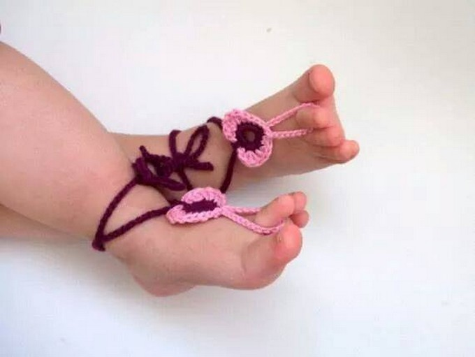 crochet-barefoot-sandal