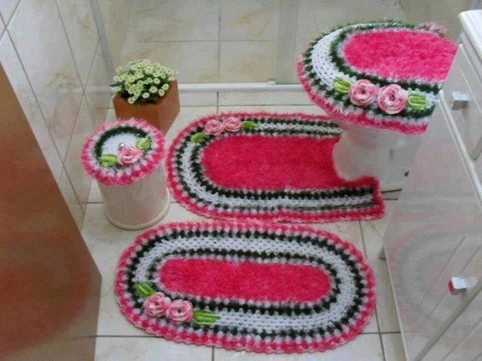crochet-bathroom-patterns