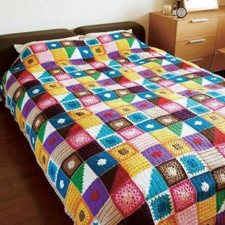 crochet bedsheet 27
