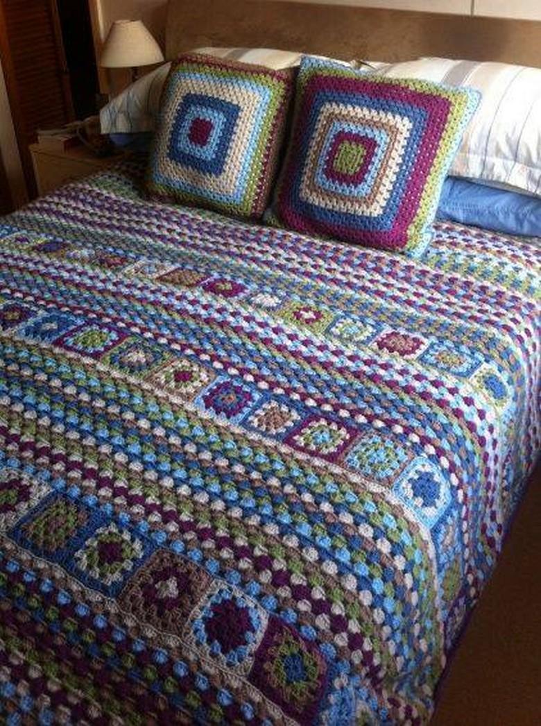 crochet bedsheet 29