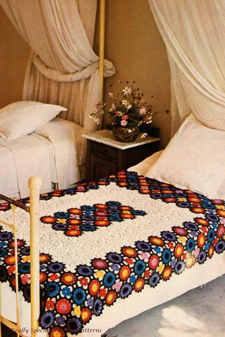 crochet bedsheet 33