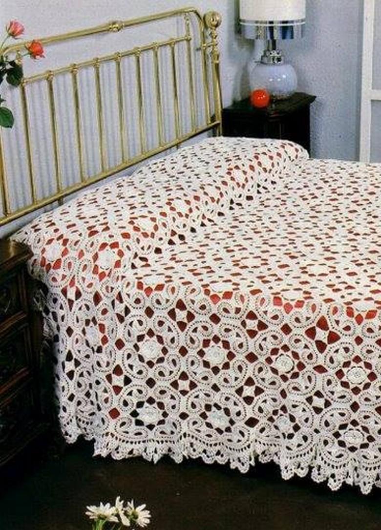 crochet bedsheet 36