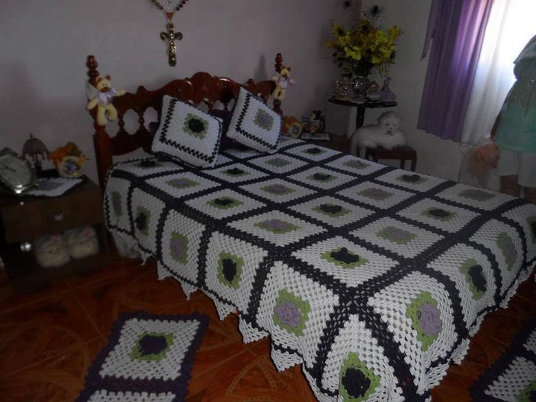 crochet bedsheet