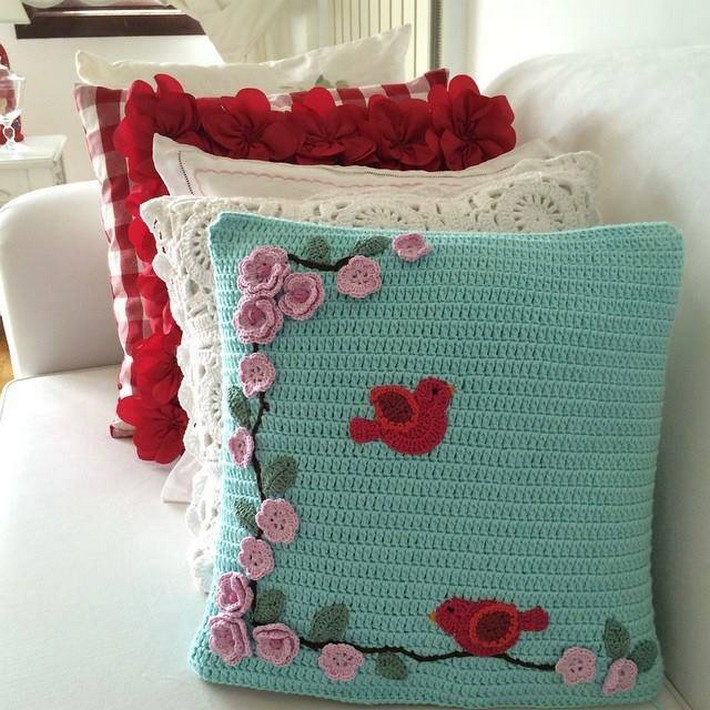 40 Crochet Cushion Pattern Ideas | 1001 Crochet