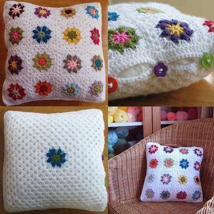 40 Crochet Cushion Pattern Ideas 1001 Crochet