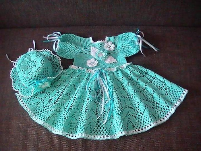 crochet-dress-for-baby-girl