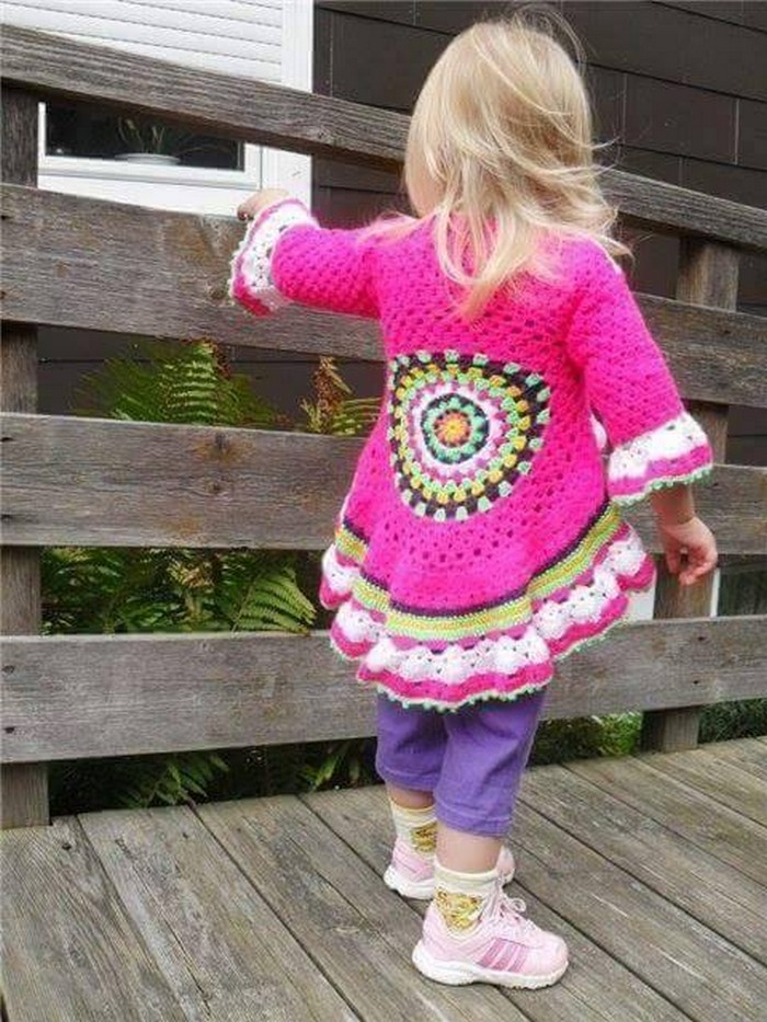 Cute Crochet Dresses For Baby Girls 1001 Crochet