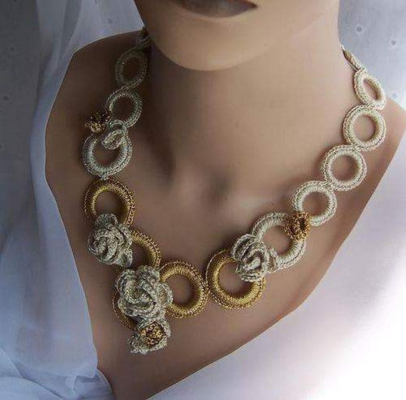 crochet necklace 19