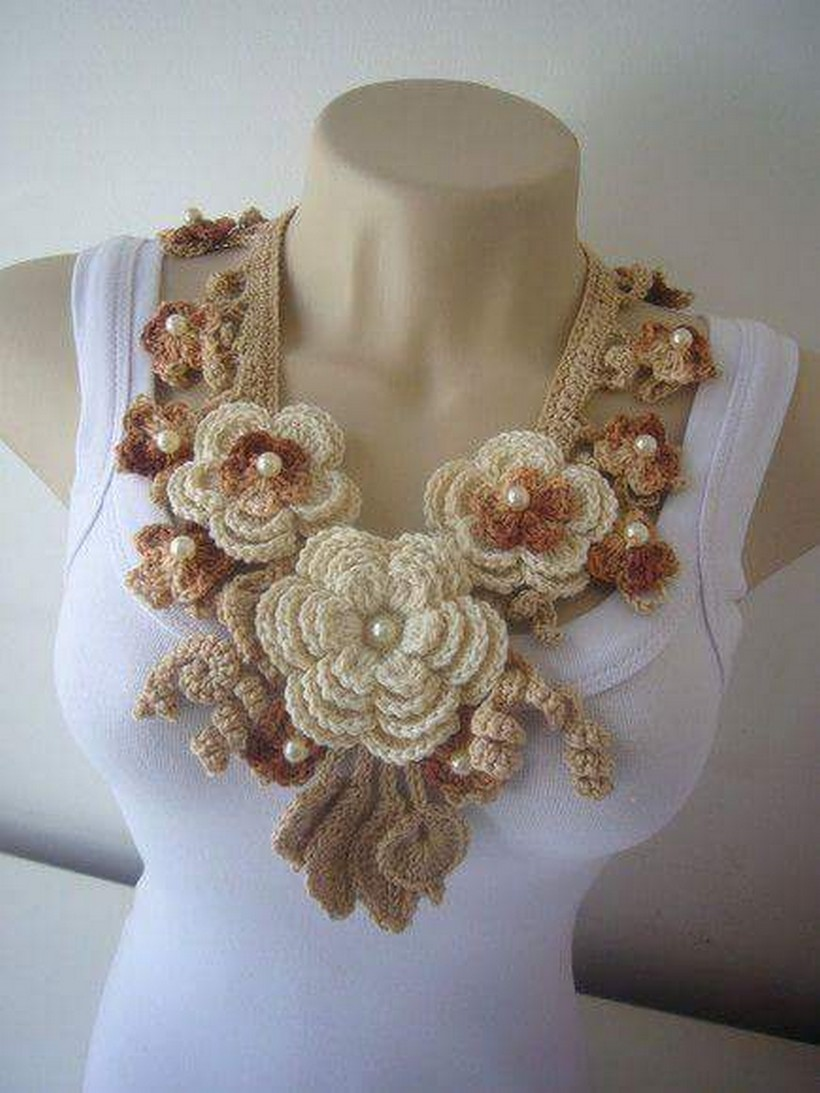 crochet necklace 33