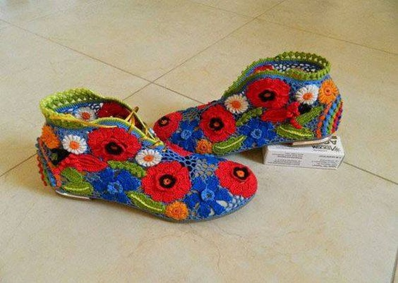 crochet shoes 31