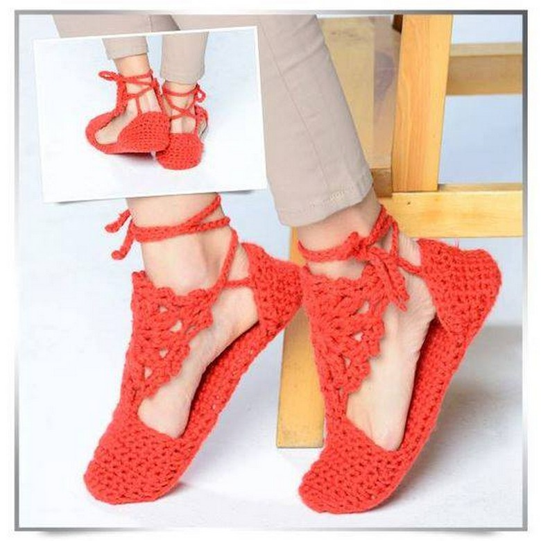 crochet shoes 35