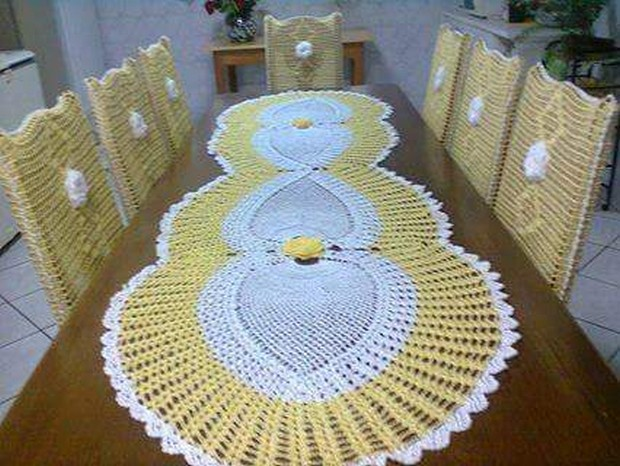 crochet table ideas