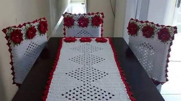 crochet table runner ideas