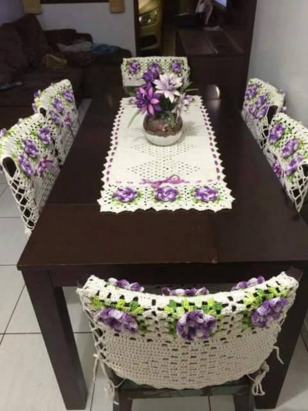 crochet table runner pattern