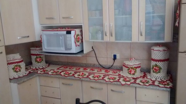 Crochet Kitchen Decor