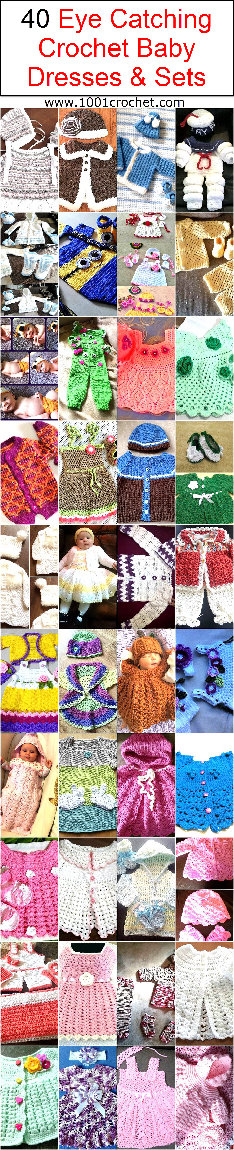 40-eye-catching-crochet-baby-dresses-sets