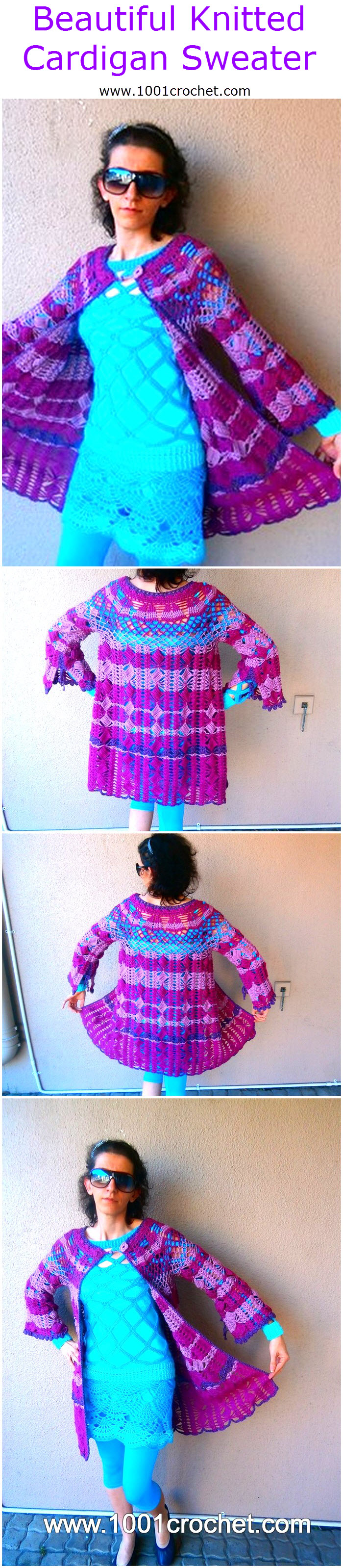 beautiful-knitted-cardigan-sweater