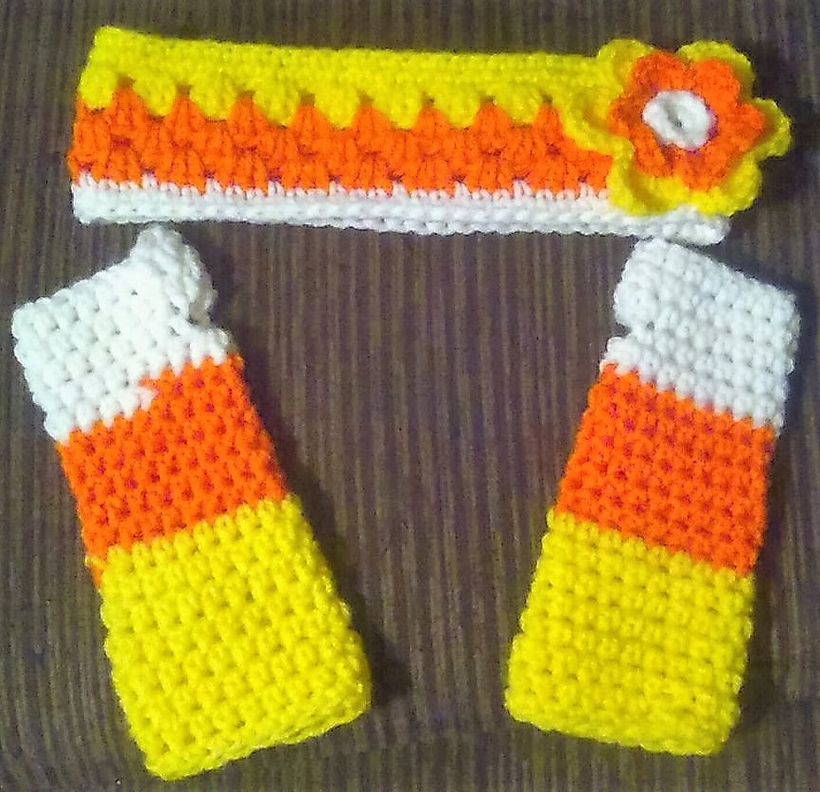 candy-corn-ear-warmer-headband-and-fingerless-gloves