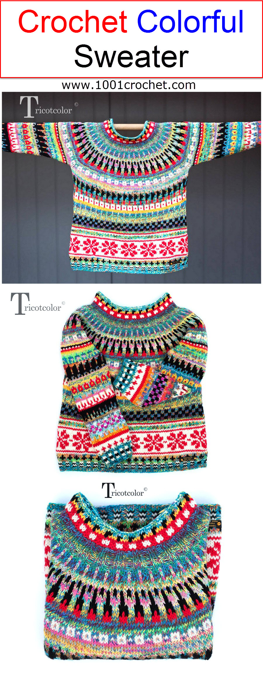 crochet-colorful-sweater