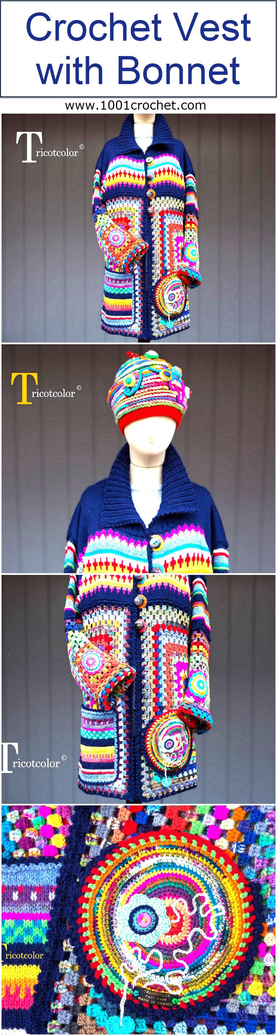 crochet-vest-with-bonnet