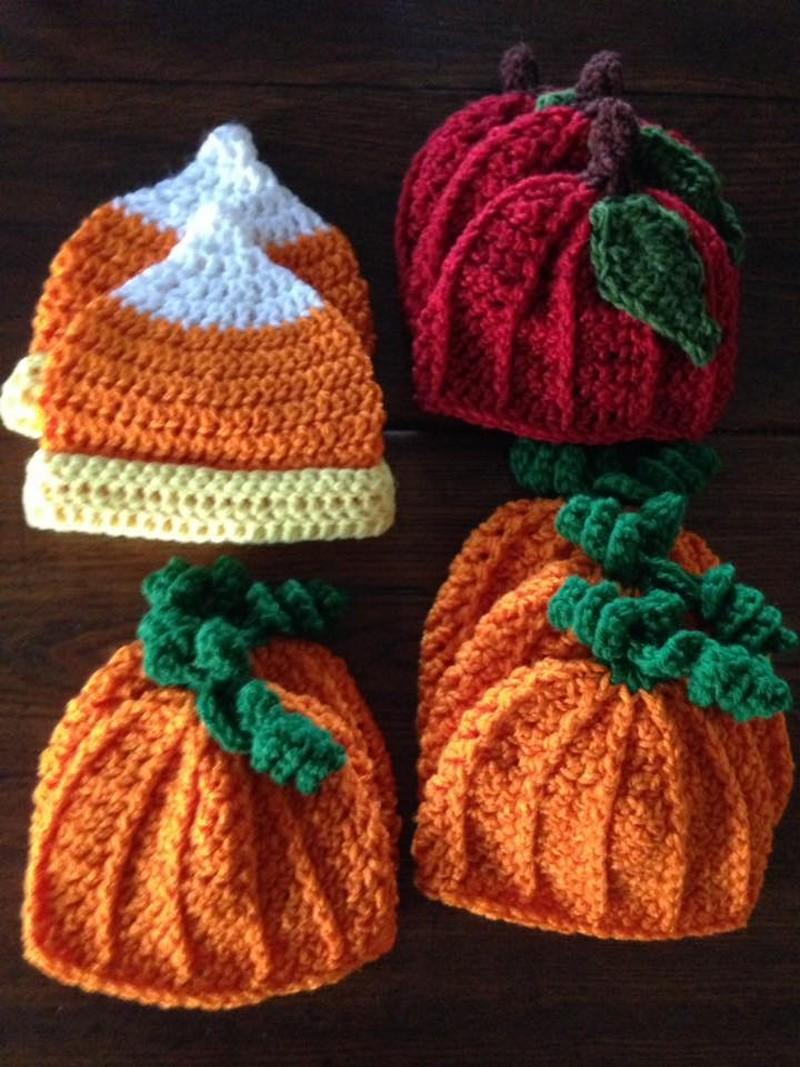 crochet-xmas-hats
