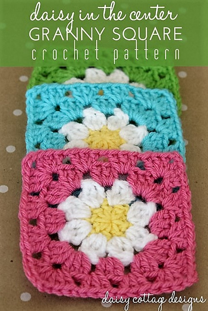 daisy-granny-square-crochet-pattern