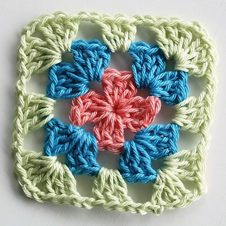 Easy Free Granny Square Patterns 1001 Crochet