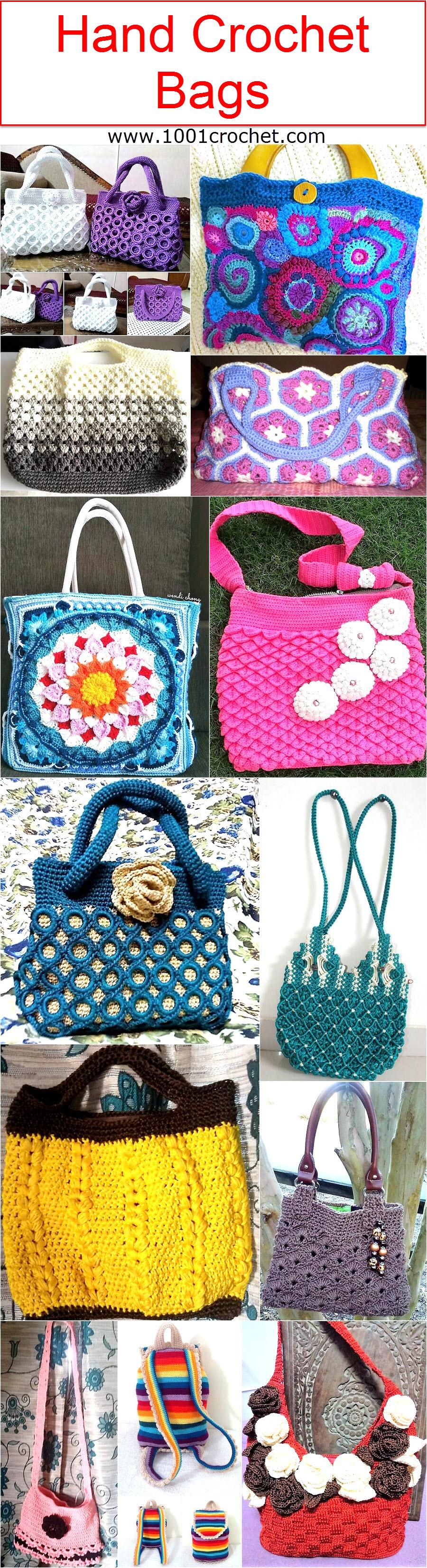 hand-crochet-bags