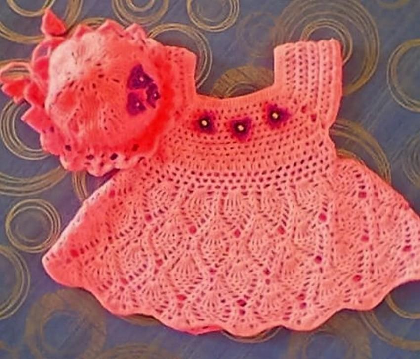 pineapple-crochet-dress
