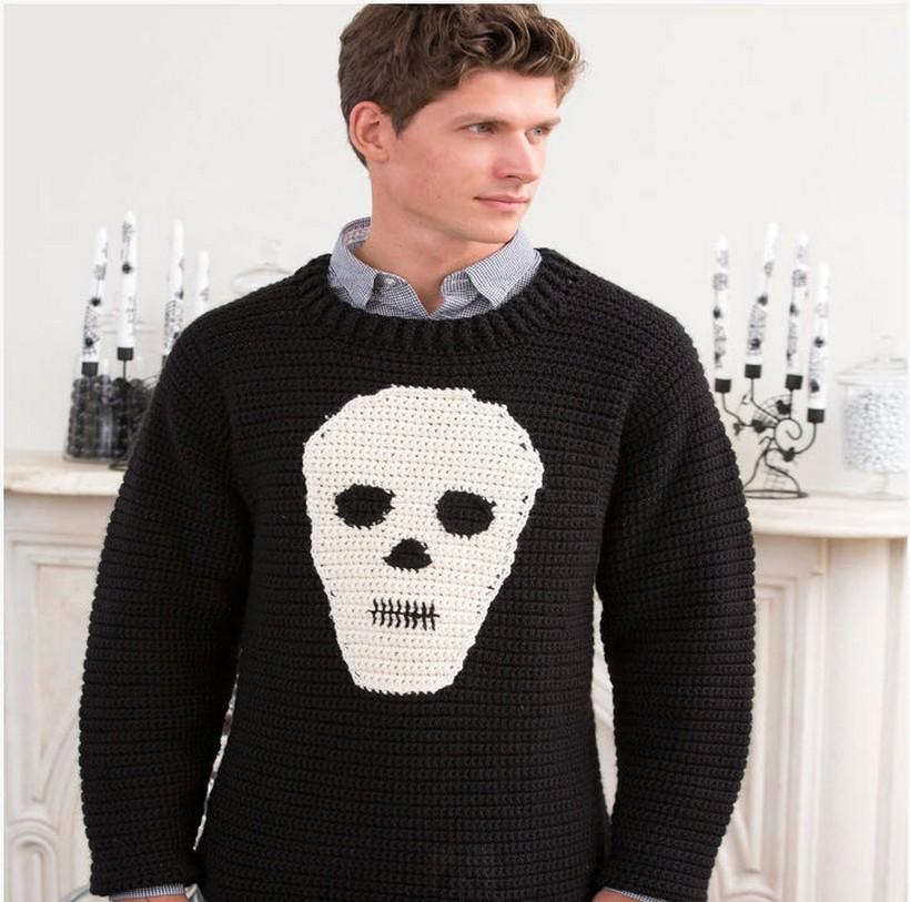 skull-sweater