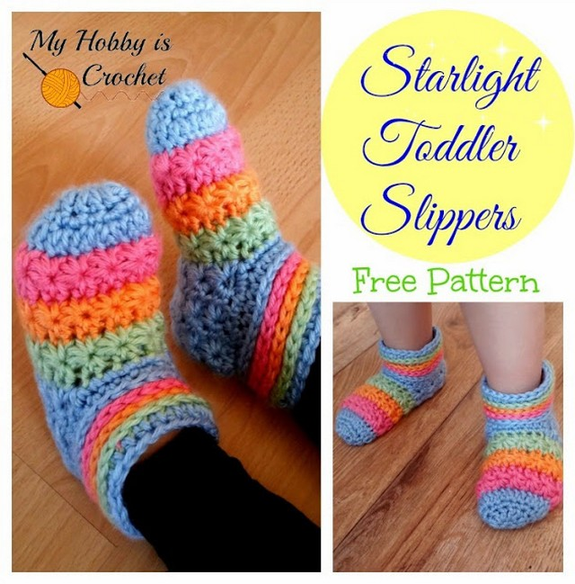 starlight-toddler-slippers-free-crochet-pattern