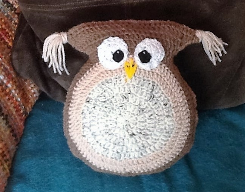 big-crochet-owl