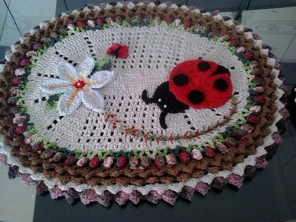 Stunning Crochet Bathroom