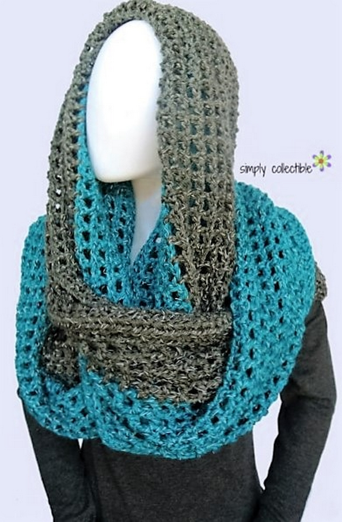 Crochet Patterns For Cowl : 30 Awesome Free Crochet Cowl Patterns 1001 Crochet