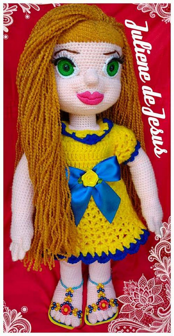Doll of Crochet by Juliene de Jesus‎