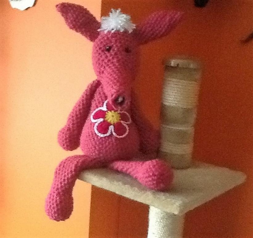 crochet-donkey