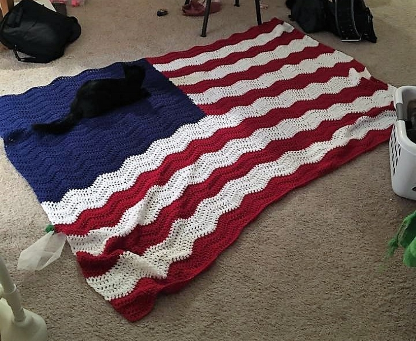 crochet-flag-afghan