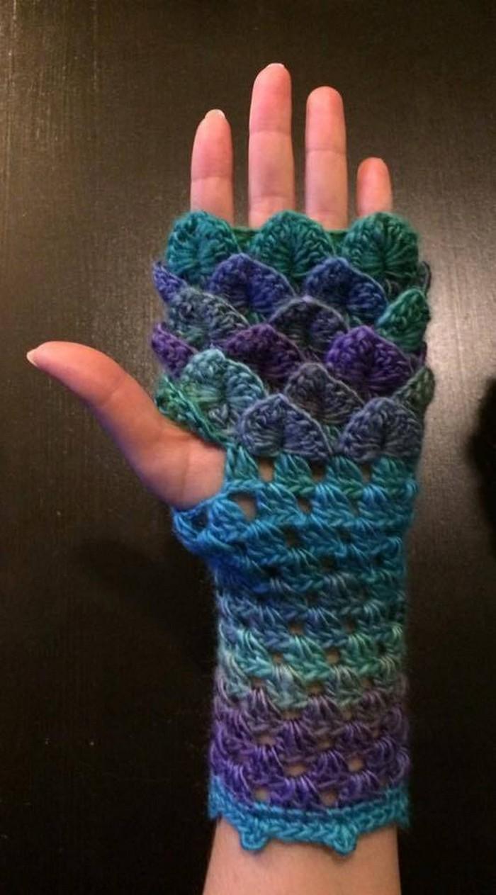 crochet-gloves-finger-less