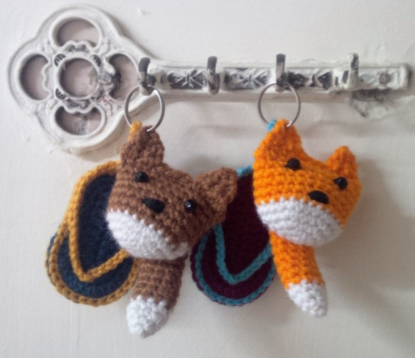 crochet-key-chains